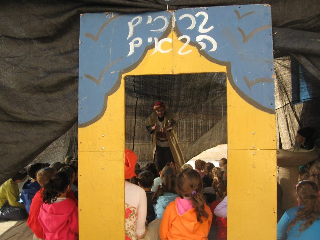 סדנת ביקור באוהל יוצאי מצרים