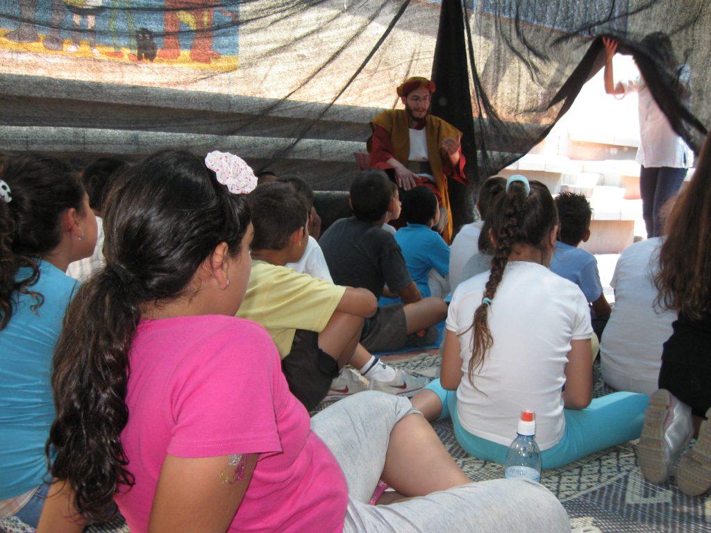 סדנת ביקור באוהל אברהם אבינו
