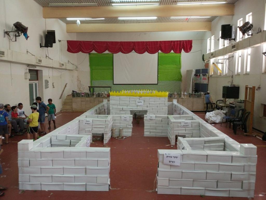 סדנת בניית דגם בית המקדש וכליו - ענק