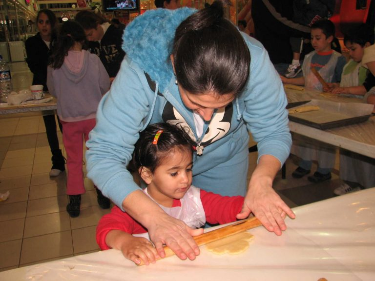 פעילות הורים וילדים לטו בשבט
