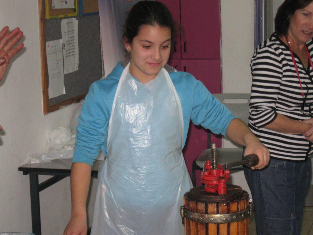סדנת הפקת שמן מזיתים