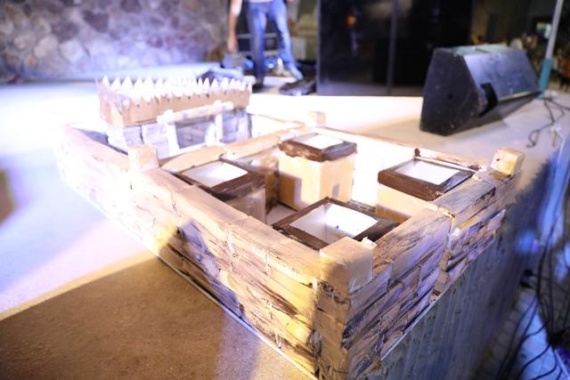 דגם בית המקדש שולחני