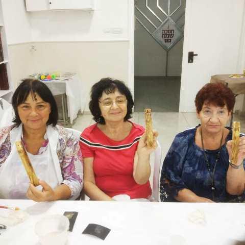 יצירת בית מזוזה באירוע לנשים