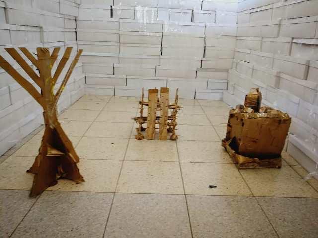 יצירת דגמי הכלים של בית המקדש