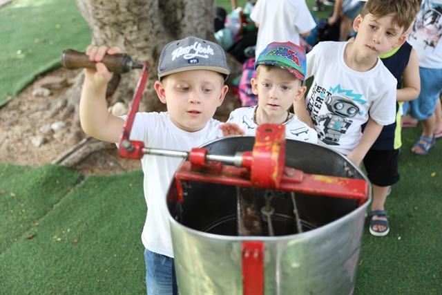 רדיית הדבש בפעילות לילדים
